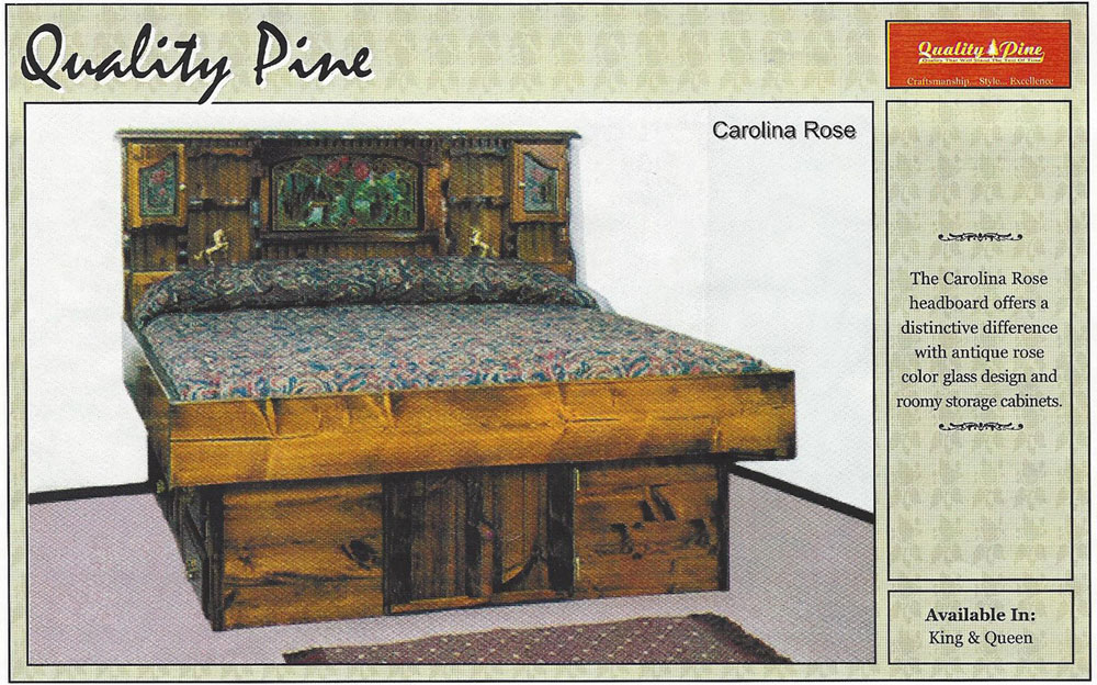 Carolina Rose Waterbed