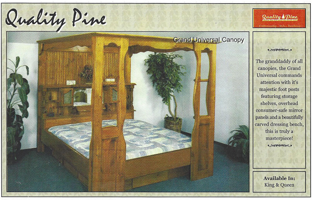 Grand Universal Canopy Waterbeds