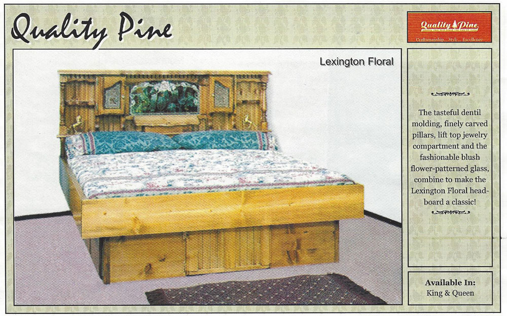 Lexington Floral Waterbed